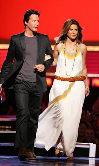 Movie & TV Awards 2006 | Best Duos Keanu Reeves/Sandra Bullock | 333x560