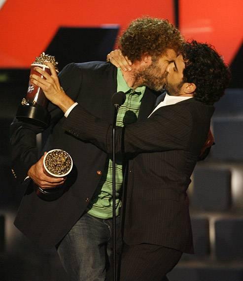 Movie & TV Awards 2007 | Best Duos Will Ferrell/Sacha Baron Cohen | 493x570