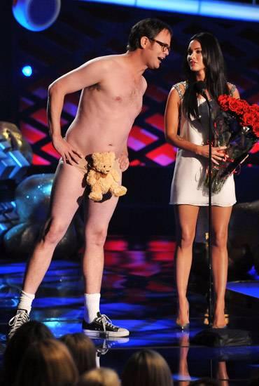 Movie & TV Awards 2008 | Best Duos Rainn Wilson/Megan Fox | 370x550
