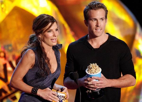 Movie & TV Awards 2009 | Best Duos Sandra Bullock and Ryan Reynolds | 600x432