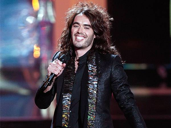 British comedian Russell Brand filled the 2008 and 2009 VMAs with so many raunchy jokes and sexual innuendos that it gave the FCC a run for their money. (Getty Images)
