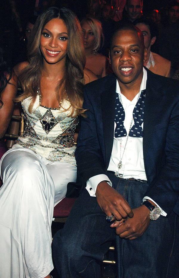 Beyoncé and Jay-Z at the 2006 VMAs.