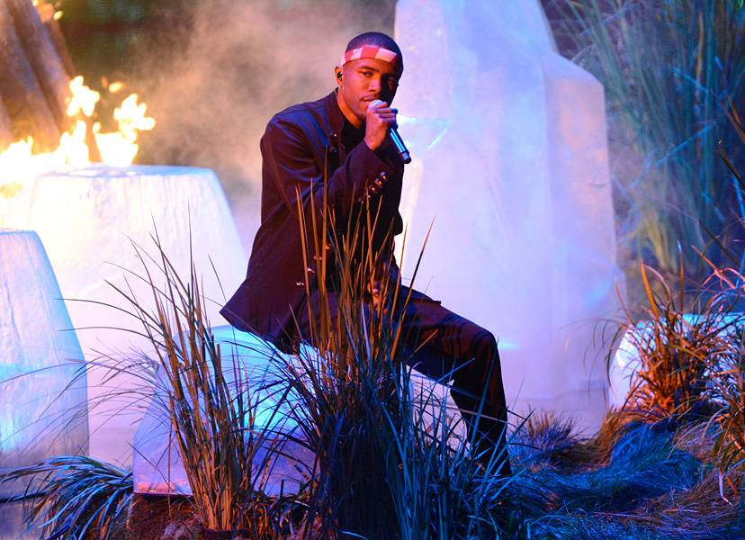 Frank Ocean's stunning performance at the 2012 VMAs gives us all the feels.
