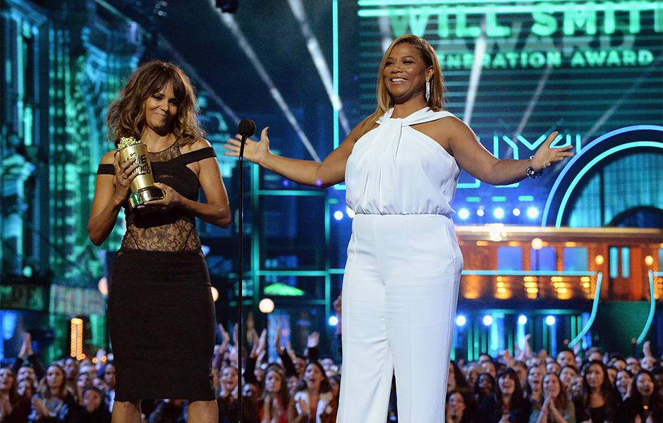 Movie & TV Awards 2016 | Best Duos Halle Berry/Queen Latifah | 940x600