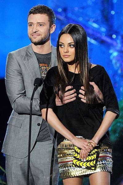 Movie & TV Awards 2011 | Best Duos Justin Timberlake/Mila Kunis | 400x600