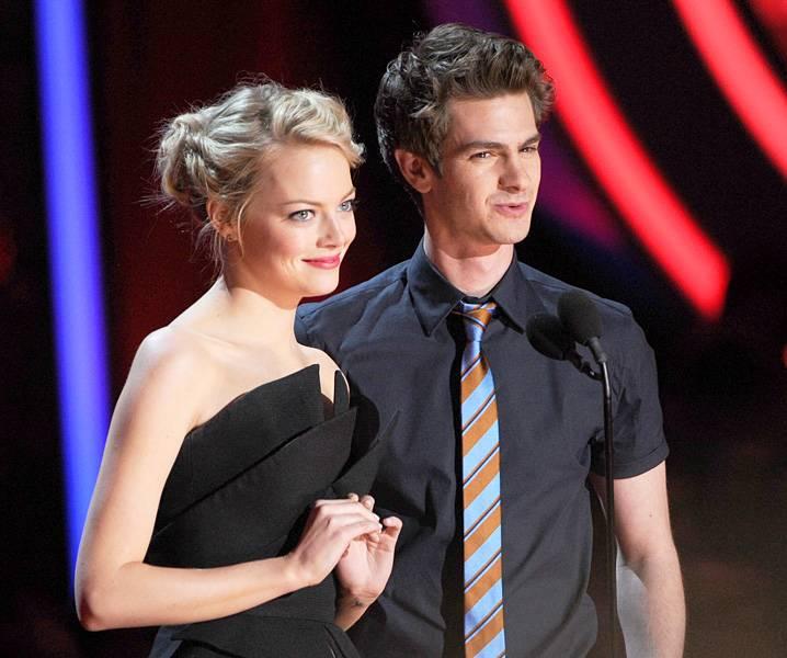 Movie & TV Awards 2012 | Best Duos Emma Stone/Andrew Garfield | 718x600