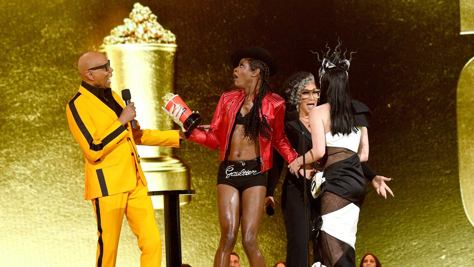MTV Movie & TV Awards: UNSCRIPTED 2021 | Highlights Gallery | RuPaul, Symone and Gottmik | 1920x1080