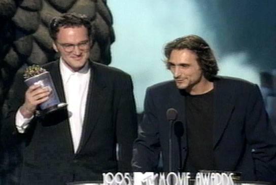 Movie & TV Awards 1995   Best Movie Winner Pulp Fiction   544x365