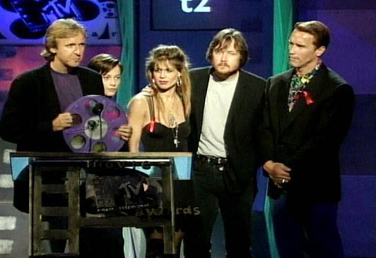 Movie & TV Awards 1992   Best Movie Winner Terminator 2   532x365