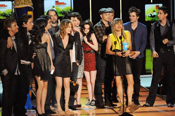 Movie & TV Awards 2009   Best Movie Winner Twilight   600x399