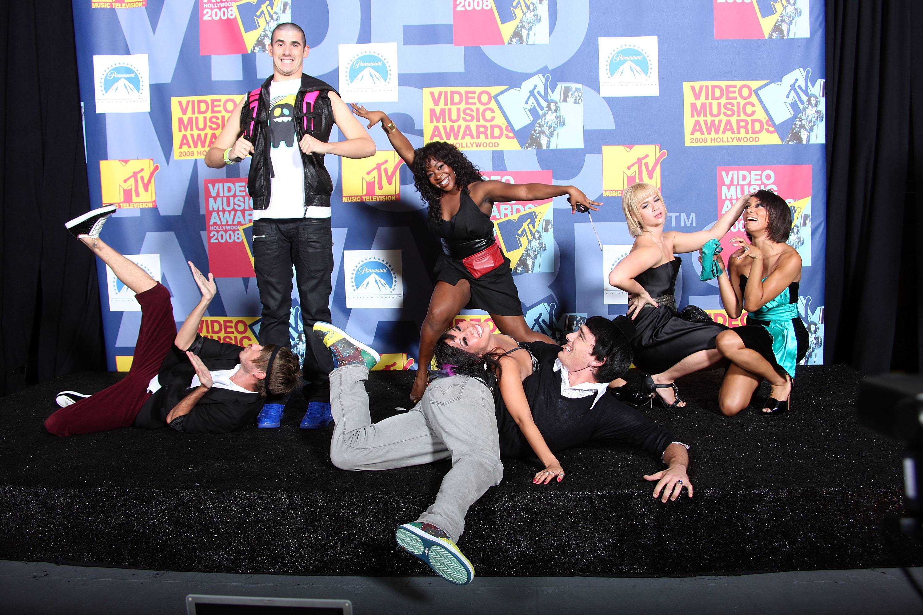 'Dance Crew' Fanny Pak strikes a pose at the 2008 MTV Video Music Awards in Hollywood.
