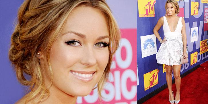 'Laguna Beach' and 'The Hills'' star, Lauren Conrad, is ready for her close-up at the 2008 MTV Video Music Awards.
