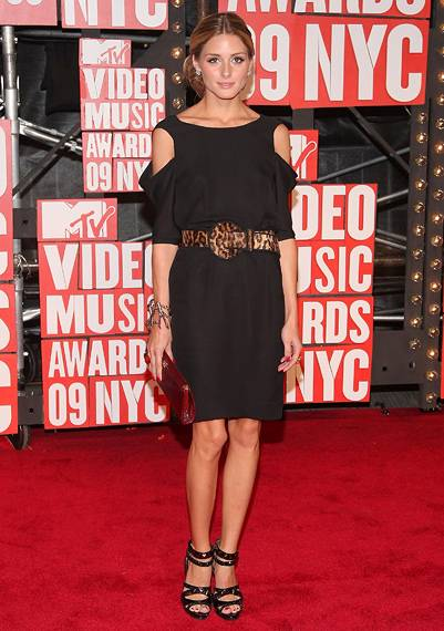'The City' star, Olivia Palermo, pauses for a red carpet pic in New York City at the 2009 MTV Video Music Awards.