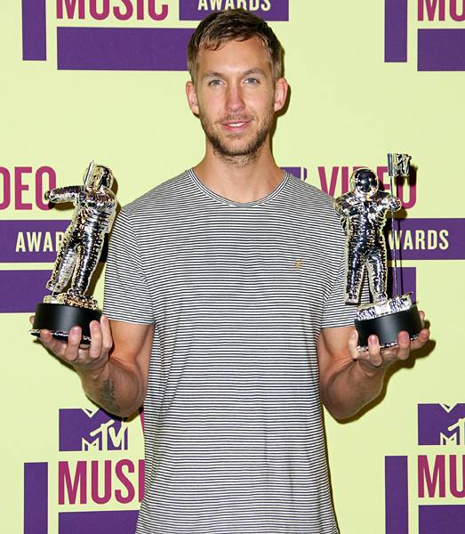 Calvin Harris takes home two Moonmen in 2012; one for Best Electronic Dance Music Video and one for Video Of The Year for his contagious collaboration with Rihanna.