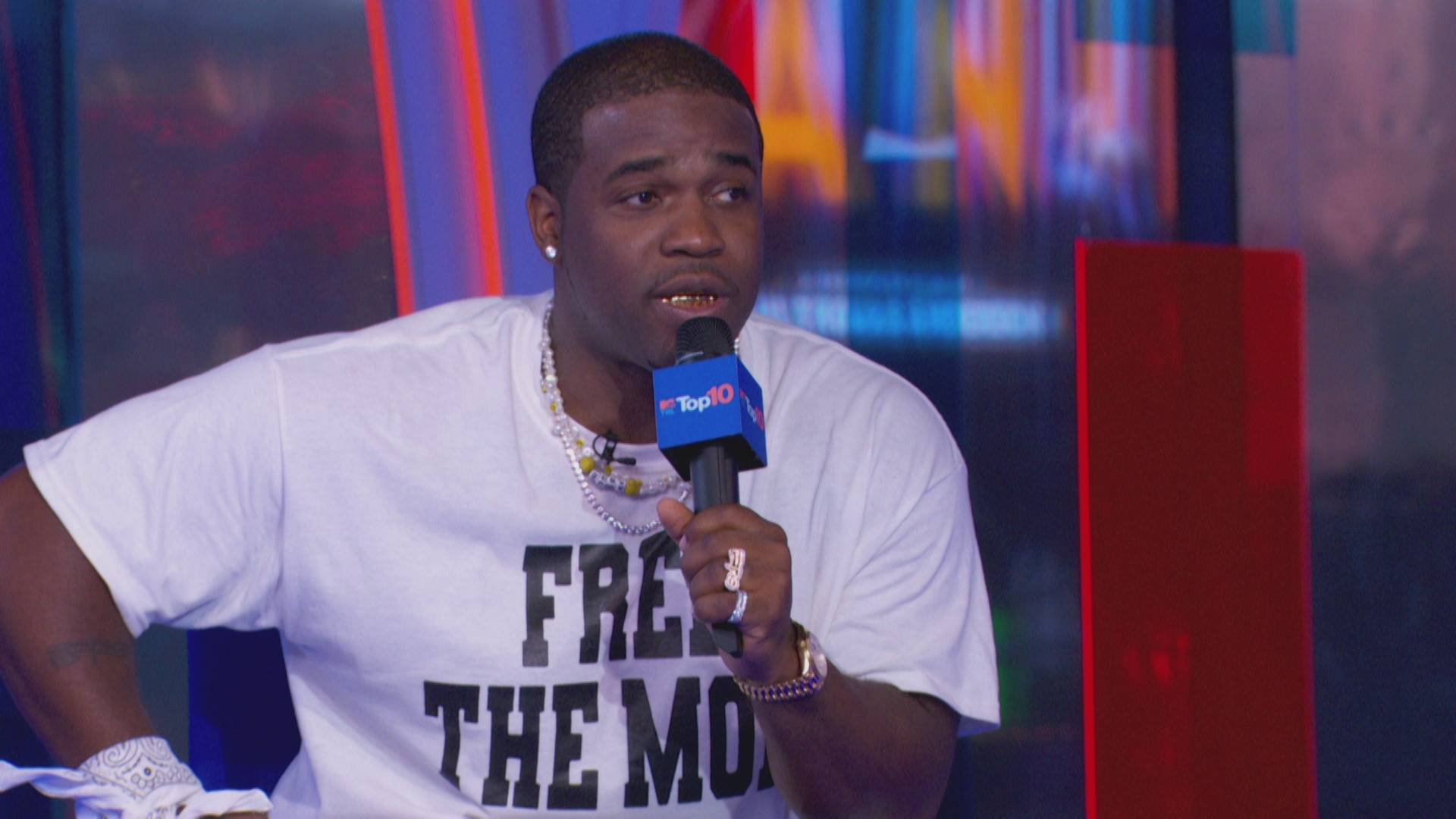 A$AP Ferg on Pups Music Video and the A$AP Mob - TRL Top