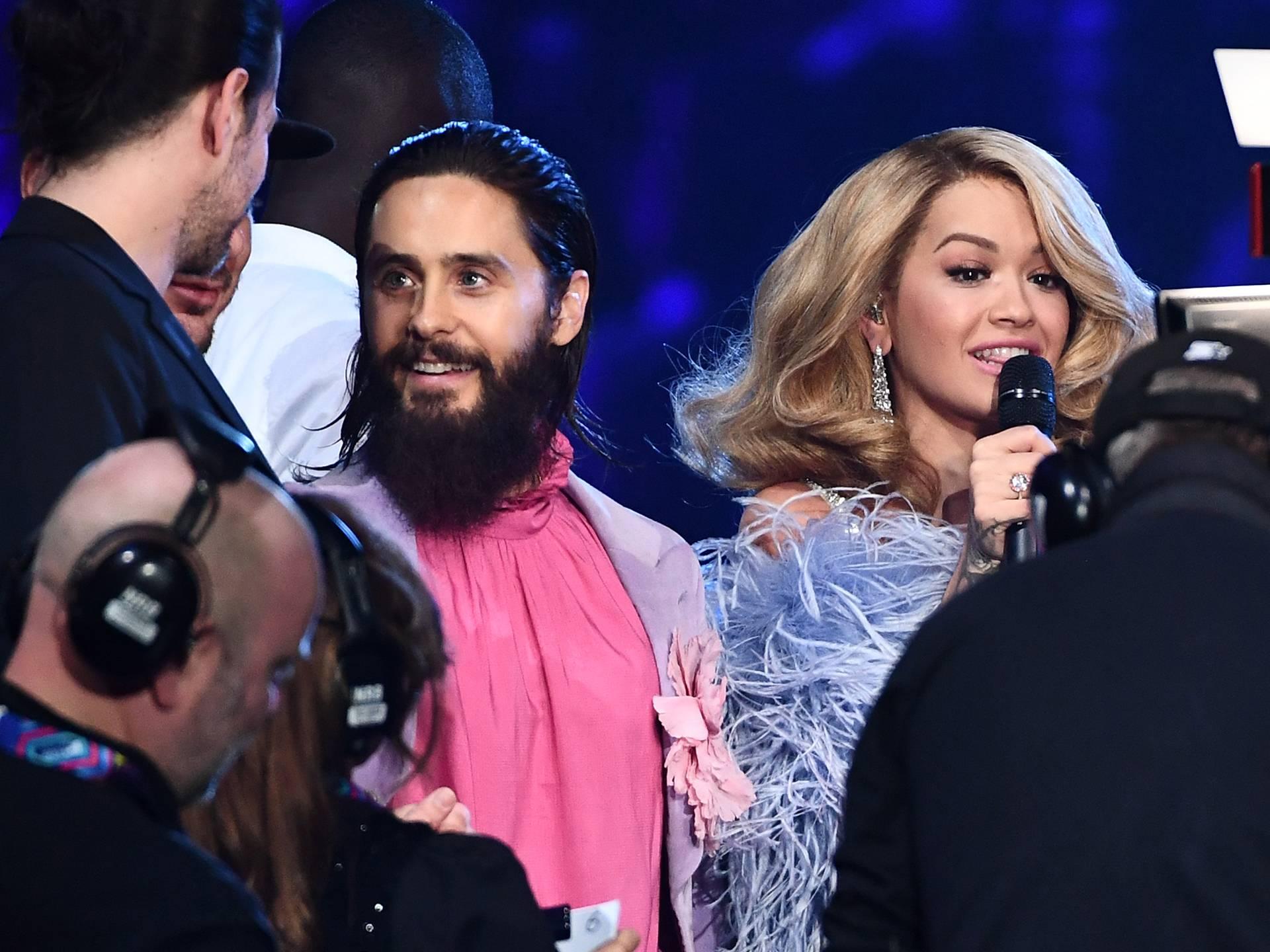 Jared Leto & Rita Ora