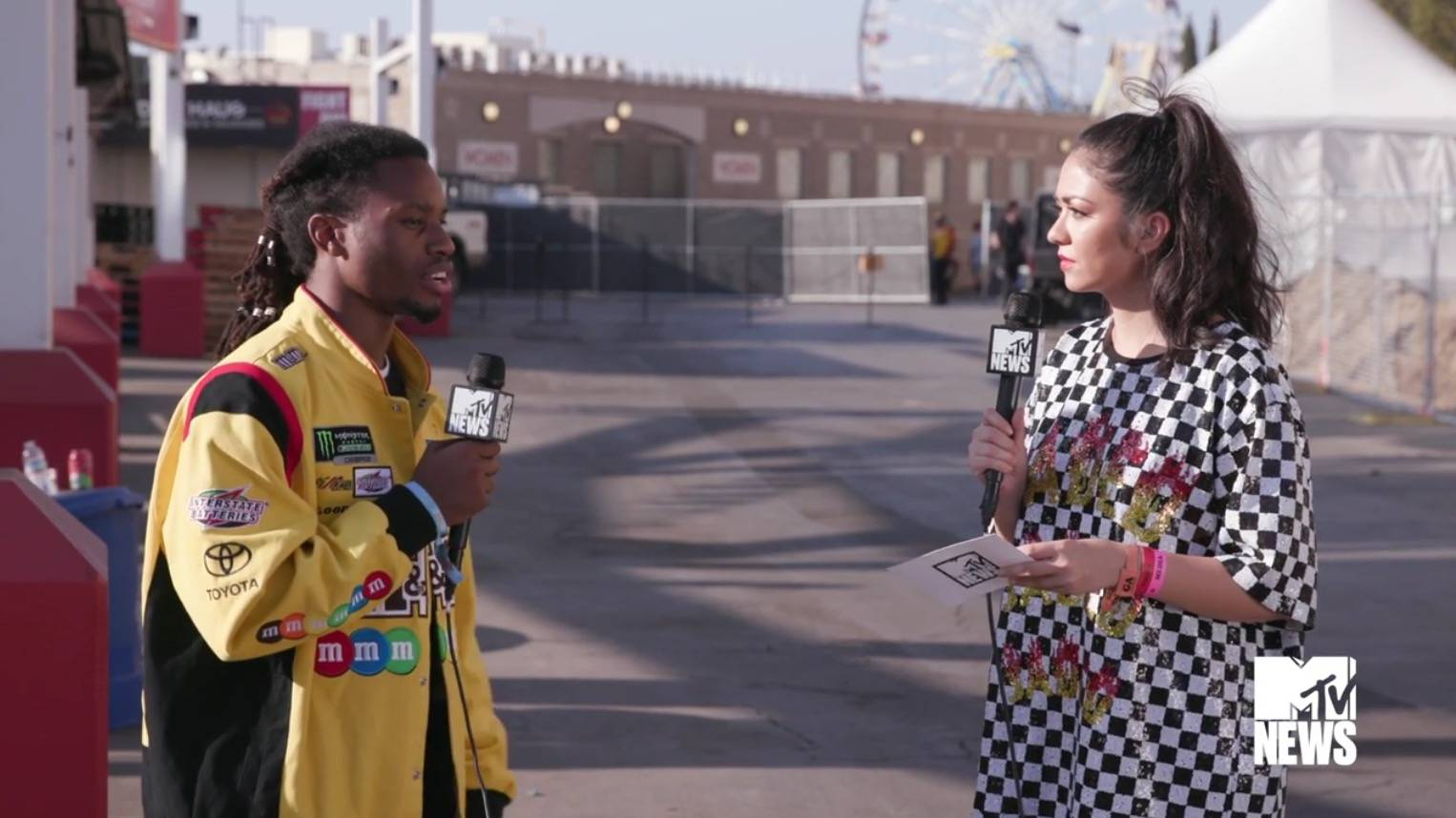 Denzel Curry And Punk Inspired Hip Hop - MTV News (Video Clip) | VMA