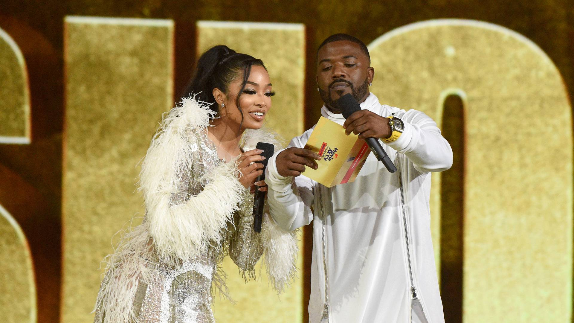 MTV Movie & TV Awards: UNSCRIPTED 2021 | Highlights Gallery | Ray J and Princess Love | 1920x1080