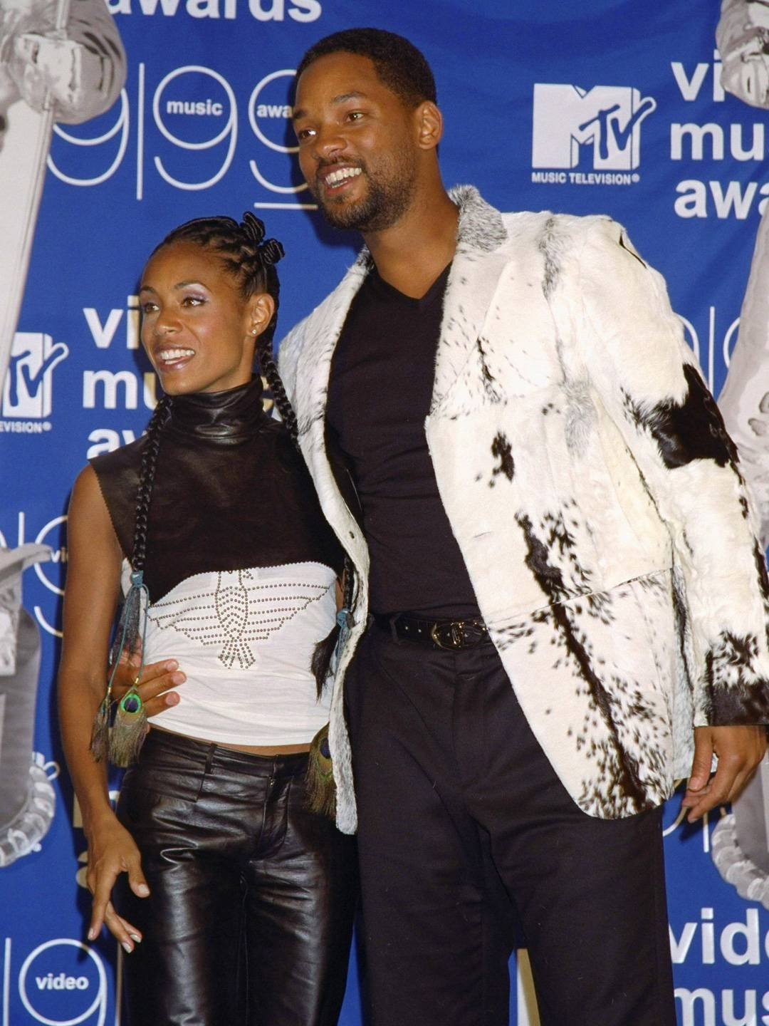 MTV Video Music Awards 2021   Are These MTV VMA 90s Looks Making a Comeback?   Jada Pinkett Smith and Will Smith   1080x1440