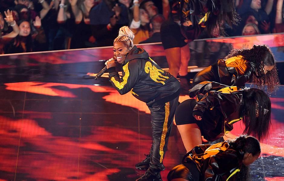 Missy Elliott shuts it down at the 2019 VMAs.