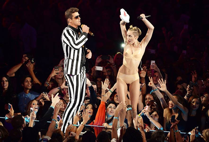 Miley Cyrus and Robin Thicke may have delivered the most talked about performance in VMA history with their 2013 VMA performance of 'Blurred Lines.'