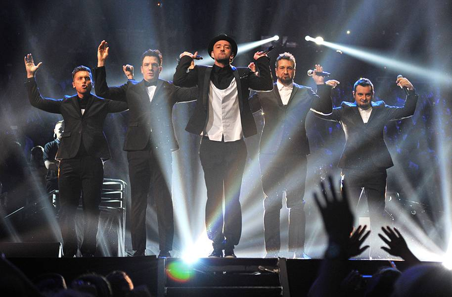 Justin Timberlake surprised the world when he brought out *NSYNC boy-bandmates during his medley performance at the 2013 VMAs.