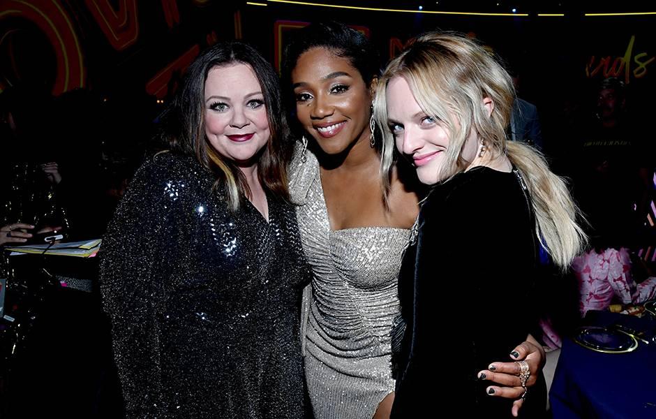 Movie & TV Awards 2019 | Behind The Scenes | Melissa McCarthy, Elisabeth Moss and Tiffany Haddish | 940x600