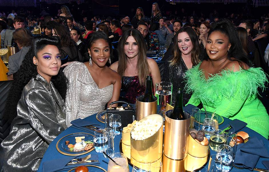 Movie & TV Awards 2019 | Behind The Scenes | Tessa, Tiffany, Sandra, Melissa, Lizzo | 940x600