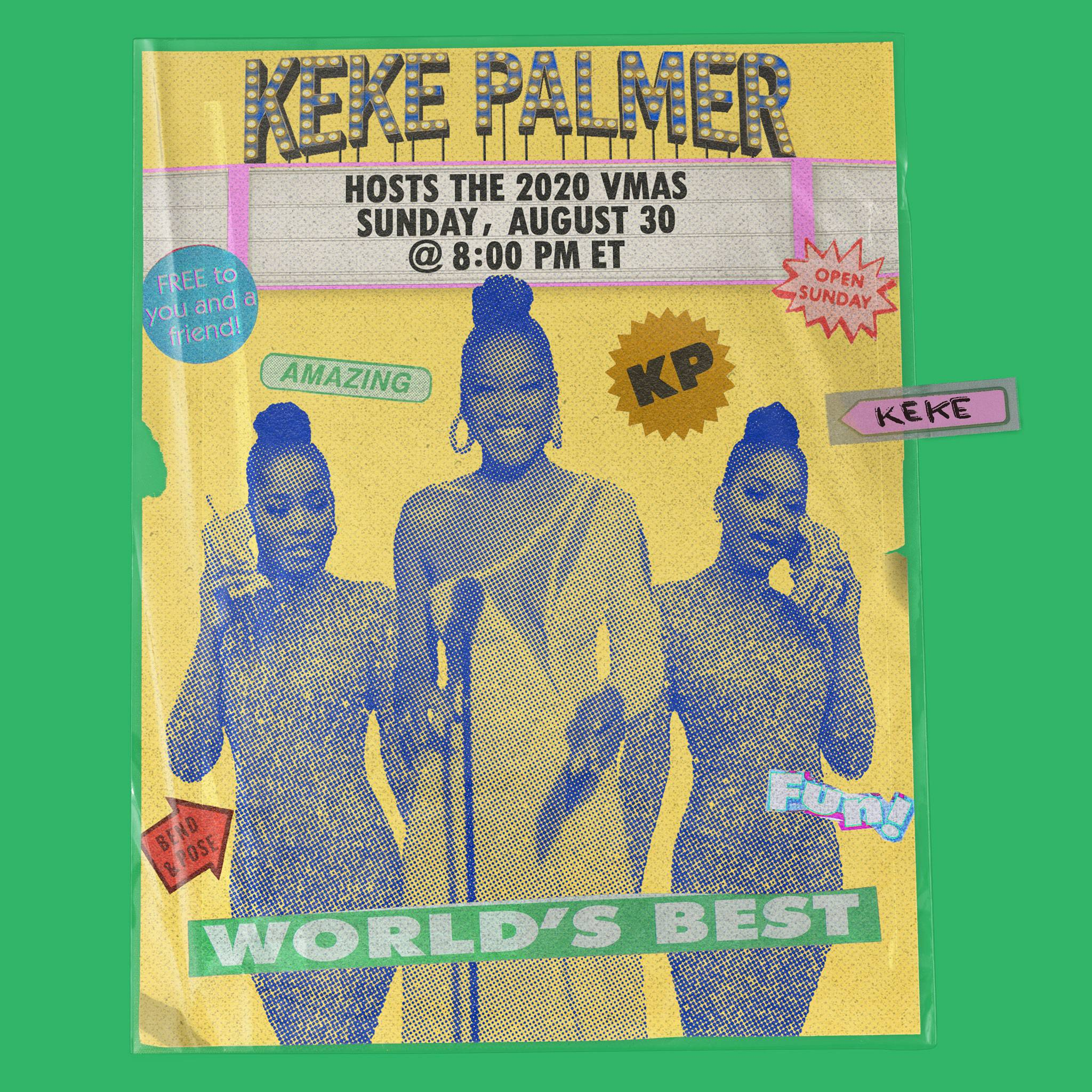 2020 VMA | Artist Spotlight Flipbook Keke Palmer by Iyanu Ogbara