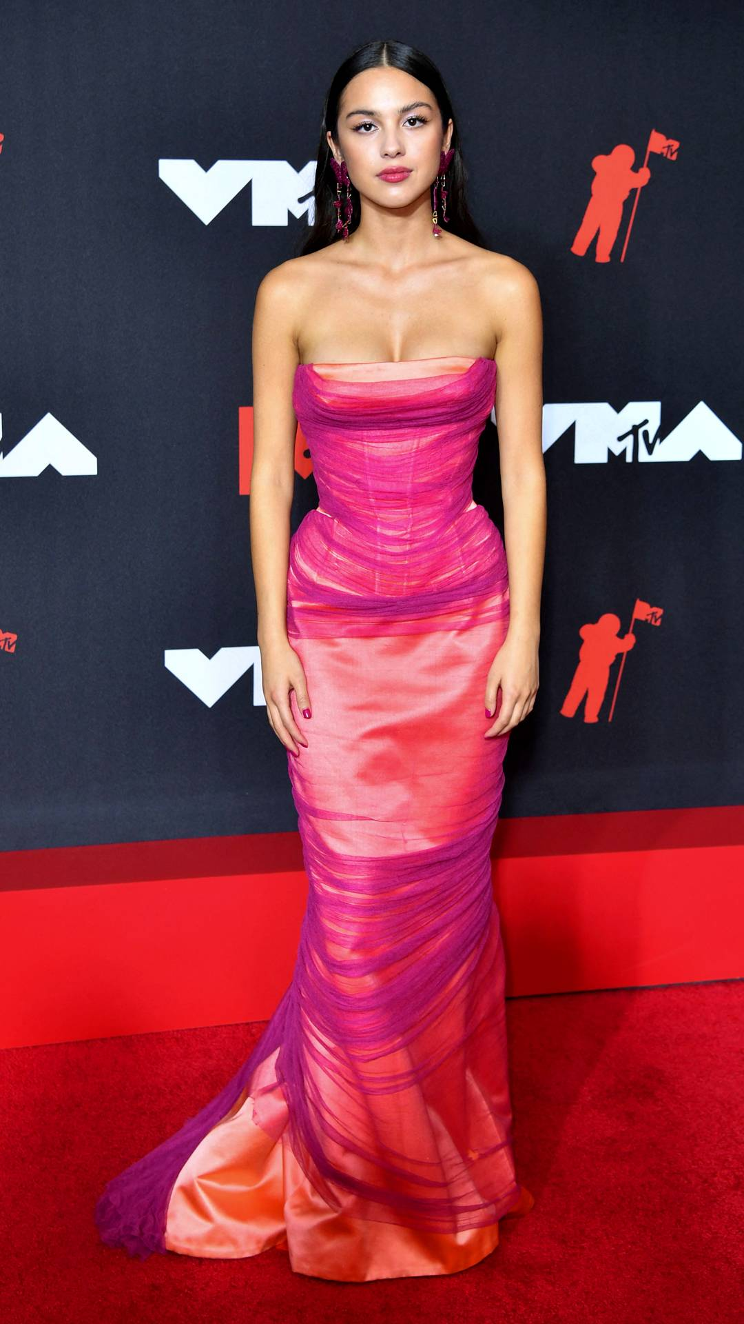 MTV Video Music Awards 2021 | The Best of the VMAs 2021 Red Carpet | Olivia Rodrigo | 1080x1920