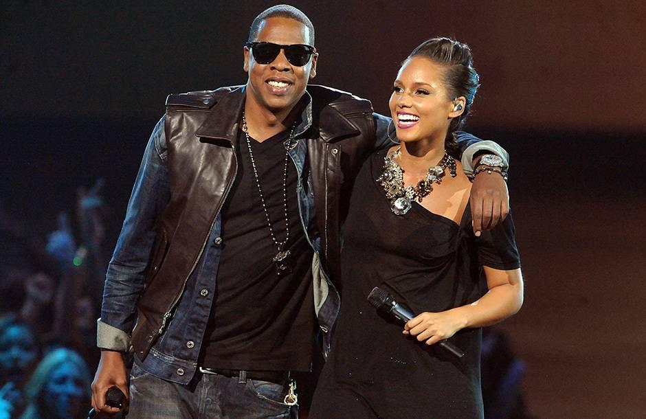 2009 VMAs   Jay-Z and Alicia Keys Performance   940x610