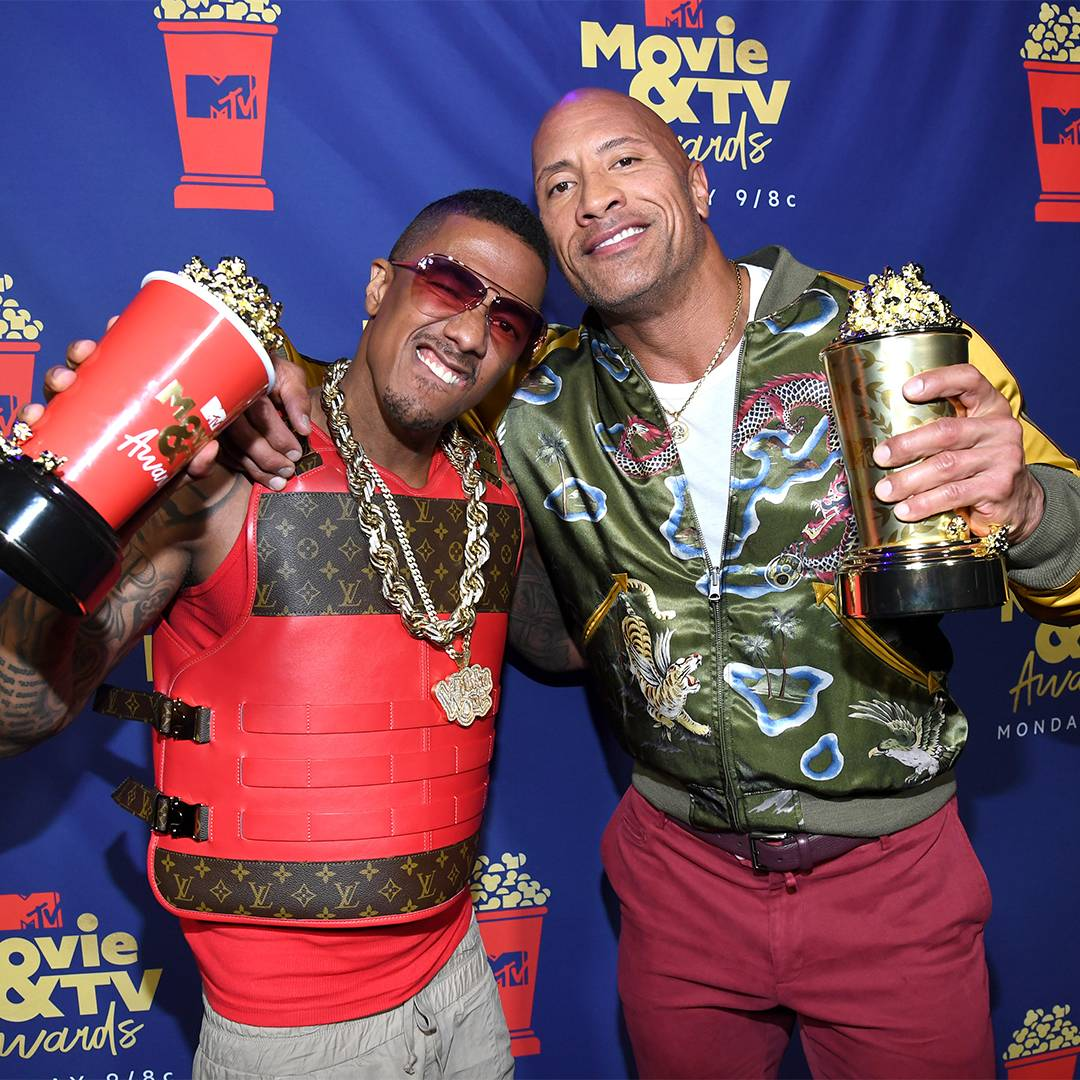 Movie & TV Awards 2019 | Best Duos Nick Cannon and The Rock | 1080 x1080