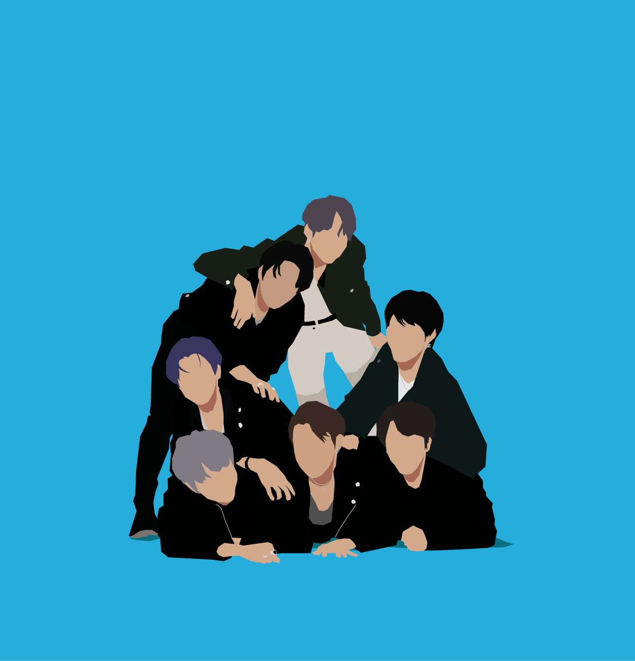 2020 VMA | Artist Spotlight Flipbook BTS by Hamed Hazel