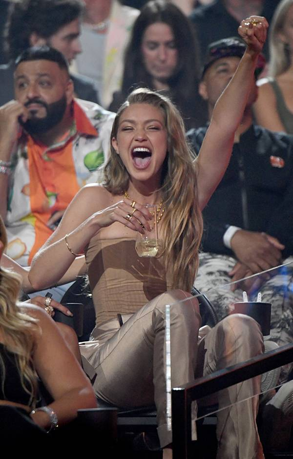 Supermodel Gigi Hadid is excited to attend the 2019 VMAs.