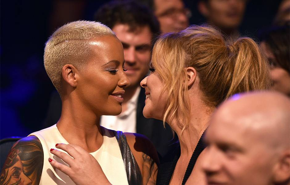 Movie & TV Awards 2015 | Best Duos Amber Rose/Amy Schumer | 940x600