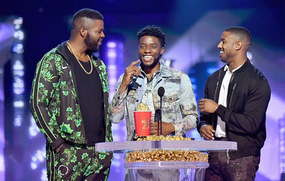 Movie & TV Awards 2018   Best Movie Winner Black Panther   940x600
