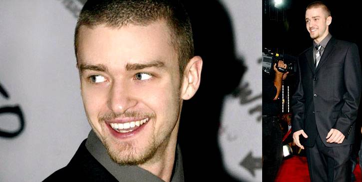 Justin Timberlake definitely brought sexy back in all black at the 2002 VMAs.
