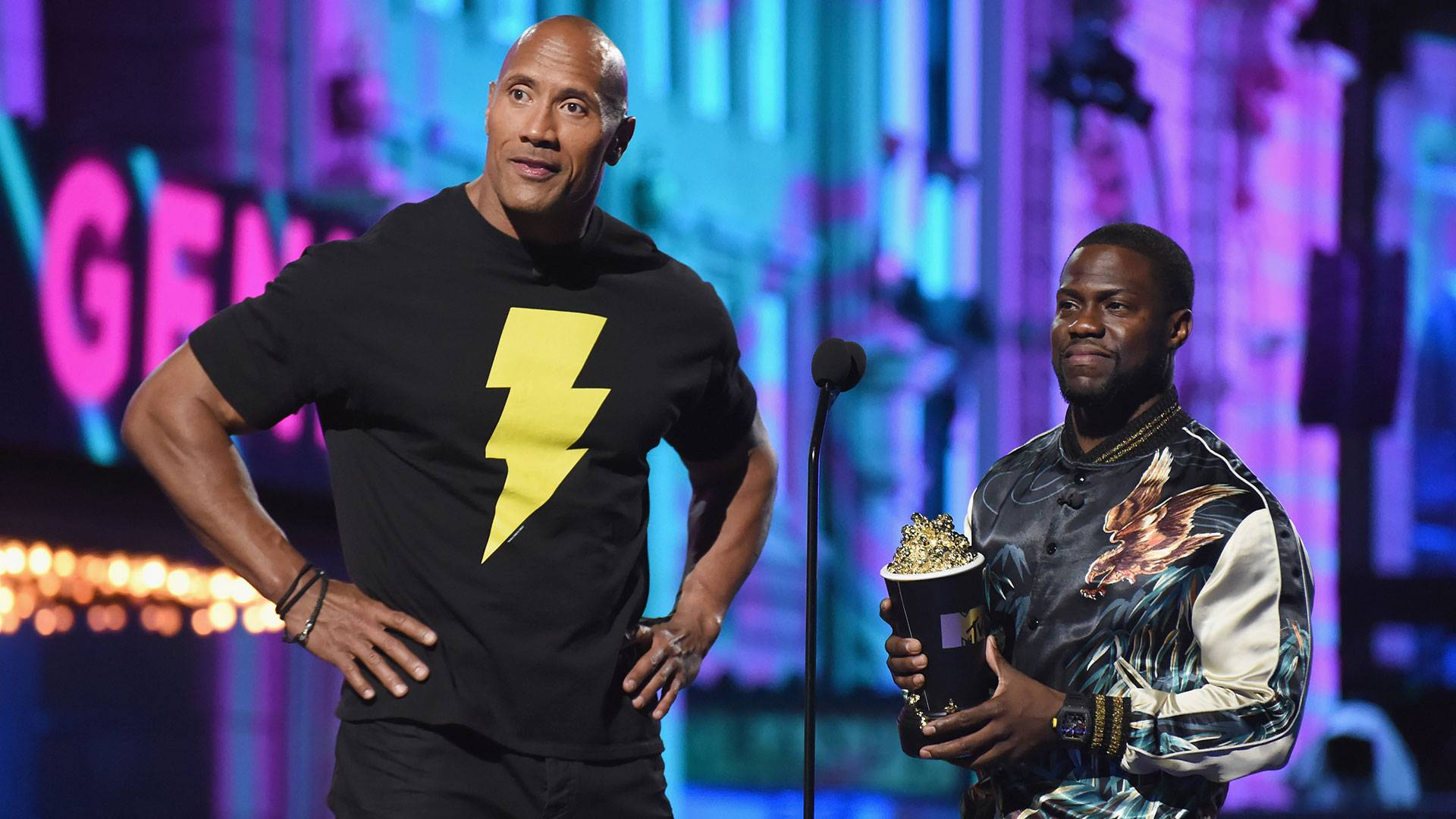Movie & TV Awards 2016 | Host Kevin Hart and The Rock | 1920x1080