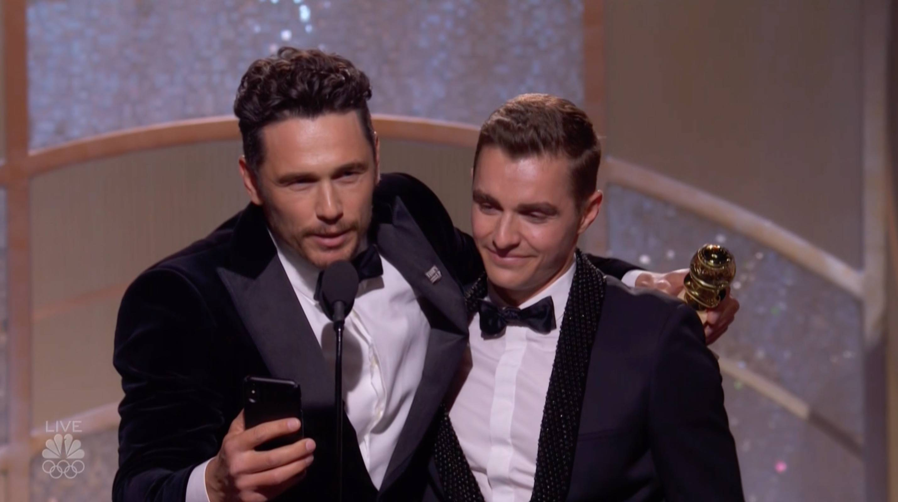 Golden Globes 2018: James Franco Acceptance Speech For Best Actor, Motion  Picture, Comedy