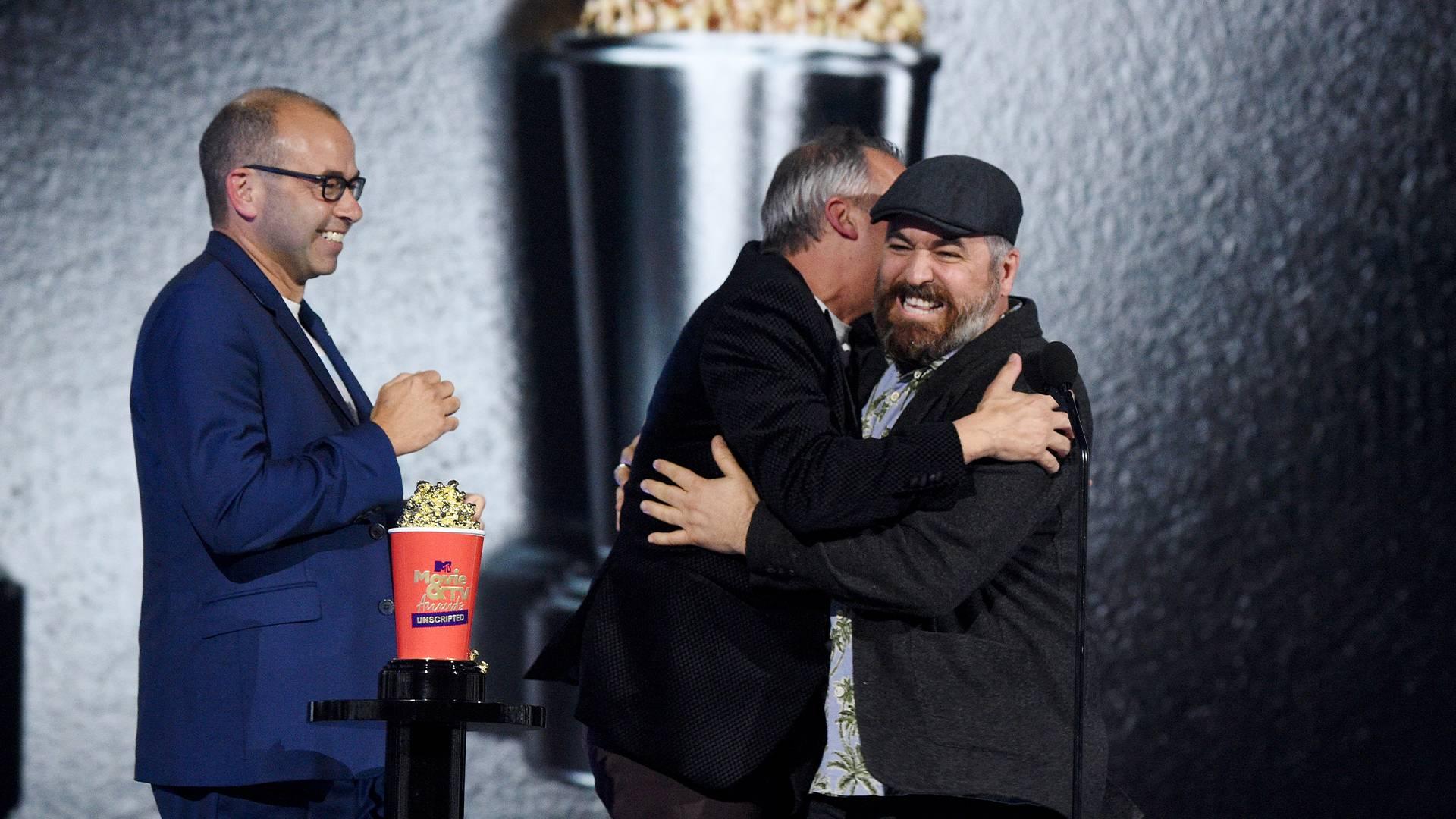 MTV Movie & TV Awards: UNSCRIPTED 2021 | Highlights Gallery | James Murray, Joe Gatto and Brian Quinn | 1920x1080