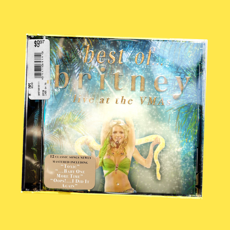 2020 VMA | Artist Spotlight Flipbook Britney Spears at the VMAs CD by Iyanu Ogbara