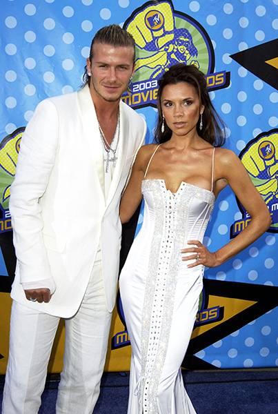 Movie & TV Awards 2003 | Love Is On David Beckham/Victoria Beckham | 403x600