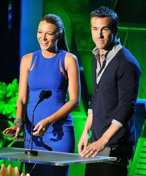 Movie & TV Awards 2011 | Love Is On Blake Lively/Ryan Reynolds | 497x600