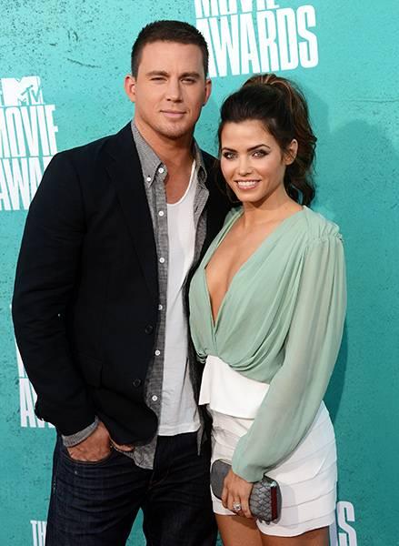 Movie & TV Awards 2012 | Love Is On Channing Tatum/Jenna Dewan Tatum | 439x600