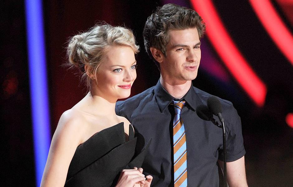 Movie & TV Awards 2012 | Love Is On Emma Stone/Andrew Garfield | 940x600