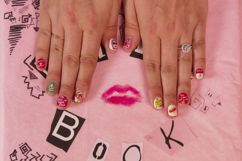 The Coolest \'Mean Girls\' Nail Art You\'ll Ever See - MTV