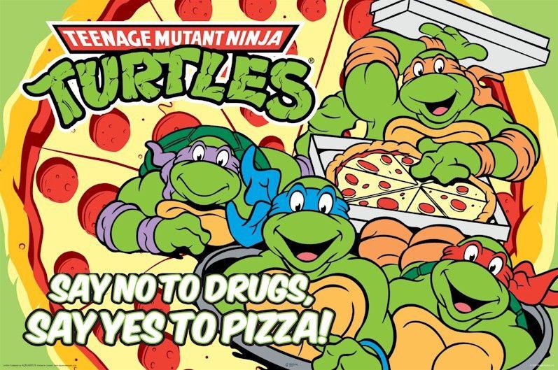 Ninja Turtles Birthday Invitations