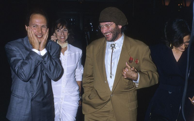 33 Photos Of Robin Williams And Billy Crystals Epic Friendship Mtv