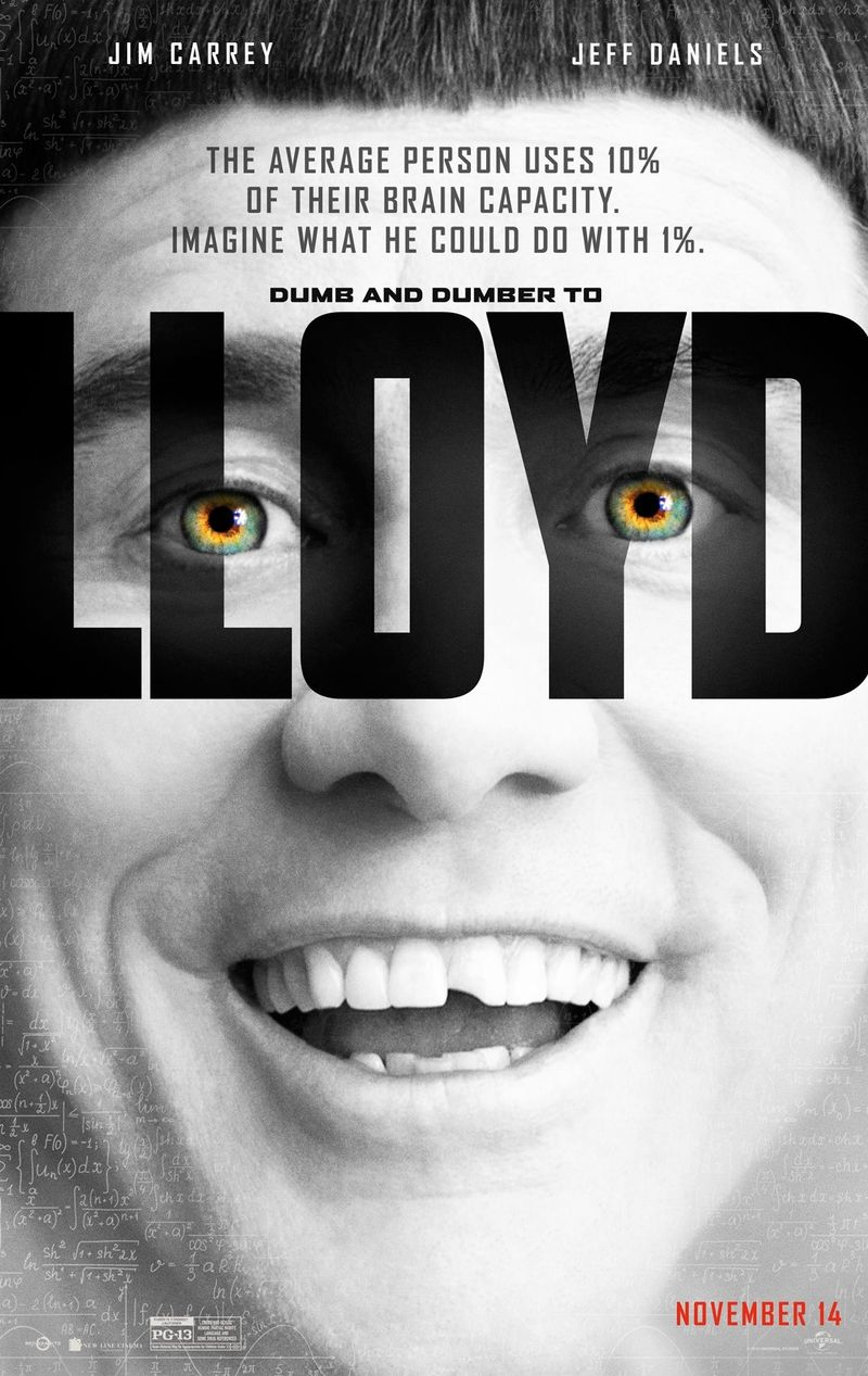 Lucy' Fuels Very Dumb 'Dumb And Dumber To' Posters - MTV