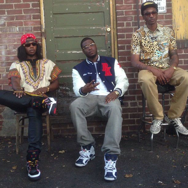 488cf932752f Adidas. Future hung with Trinidad James and Big K.R.I.T in his leopard Jeremy  Scott ...